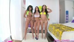 SWALLOWED- Adriana, Jynx and Megan tienen sexo extremo